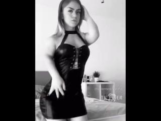 Dwarf Twerk Butt Huge Fat Girl