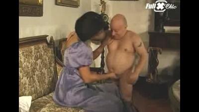 Maria Bellucci And A Dwarf