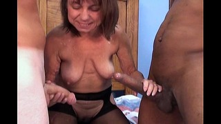 Interracial Younger & Elderly Sexpornparty